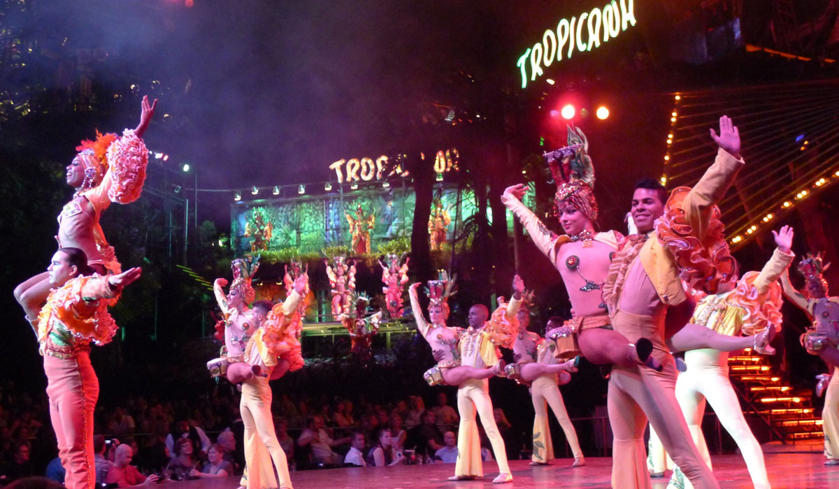 Night Show at Tropicana
