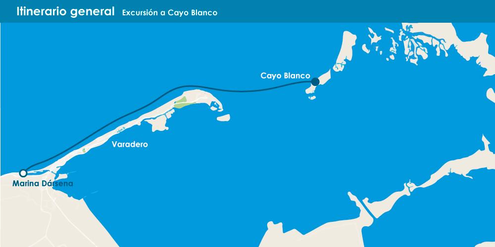 Excursión a Cayo Blanco