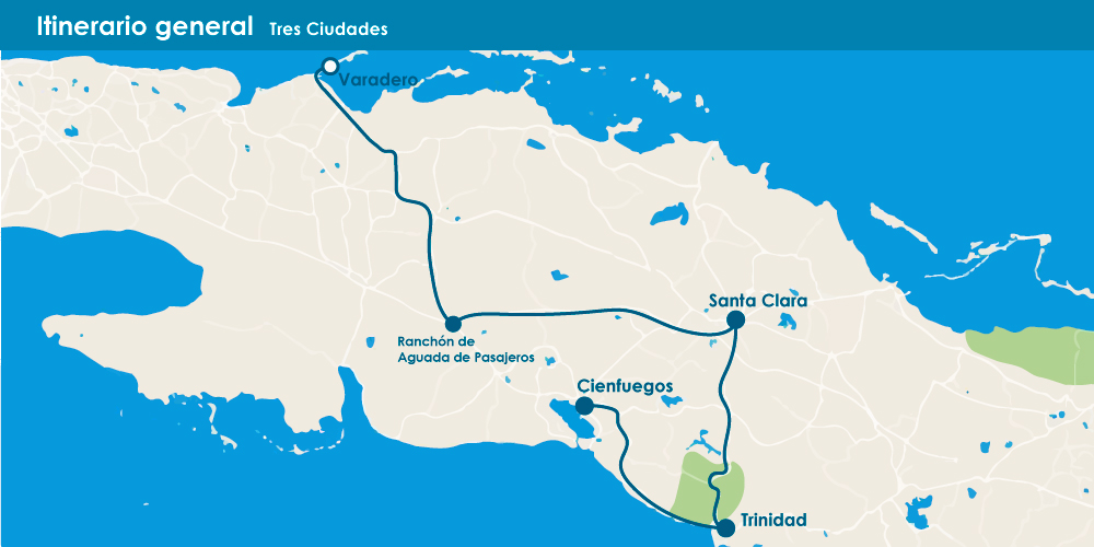 Santa Clara, Trinidad y Cienfuegos