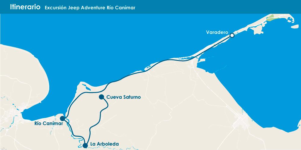 Excursión Jeep Adventure Río Canímar