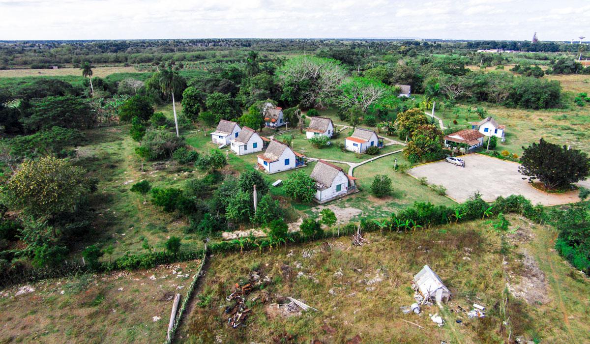 Bohío de Don Pedro - Aerial view