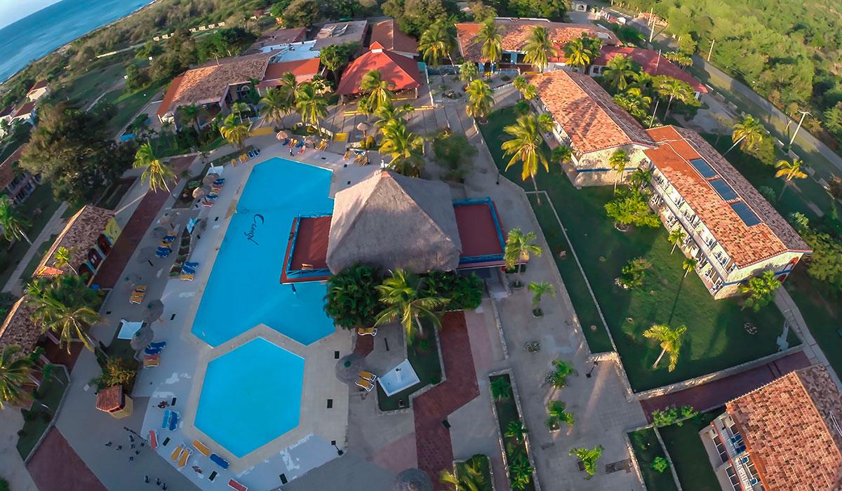 Hotel Club Amigo Carisol Los Corales - vista aerea