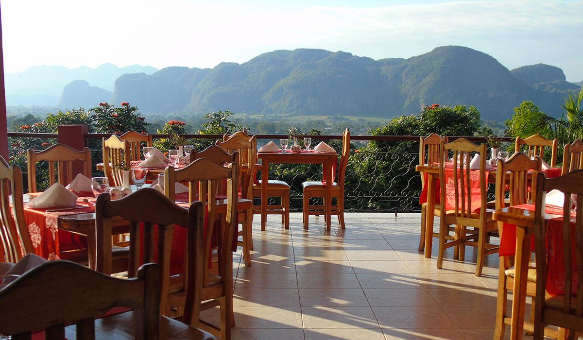 Hotel Horizontes La Ermita, Viñales - Restaurant