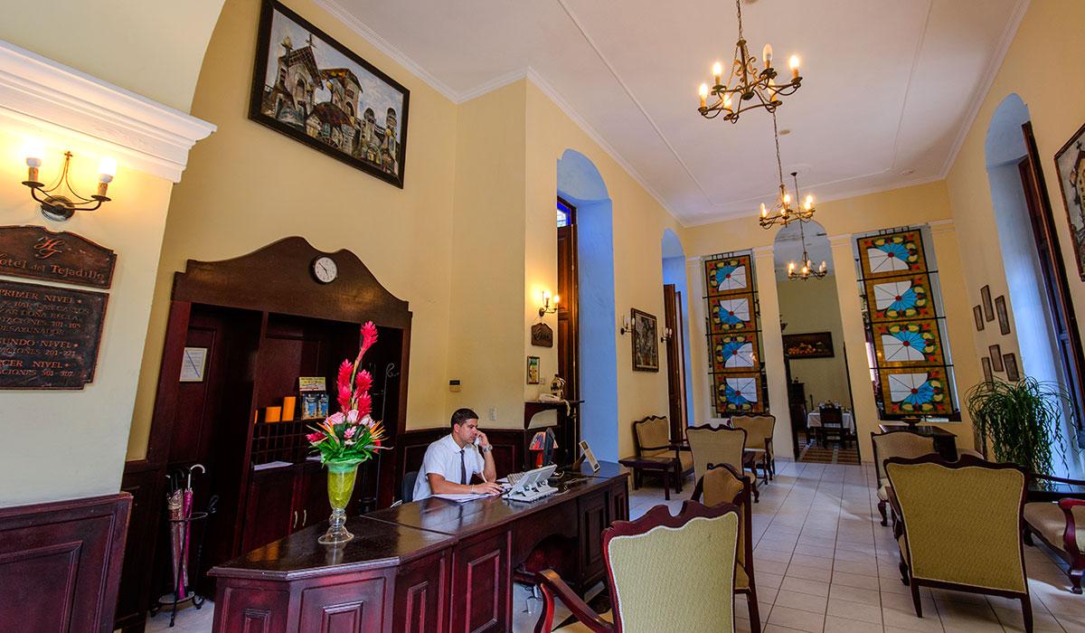 Hotel Tejadillo - Lobby