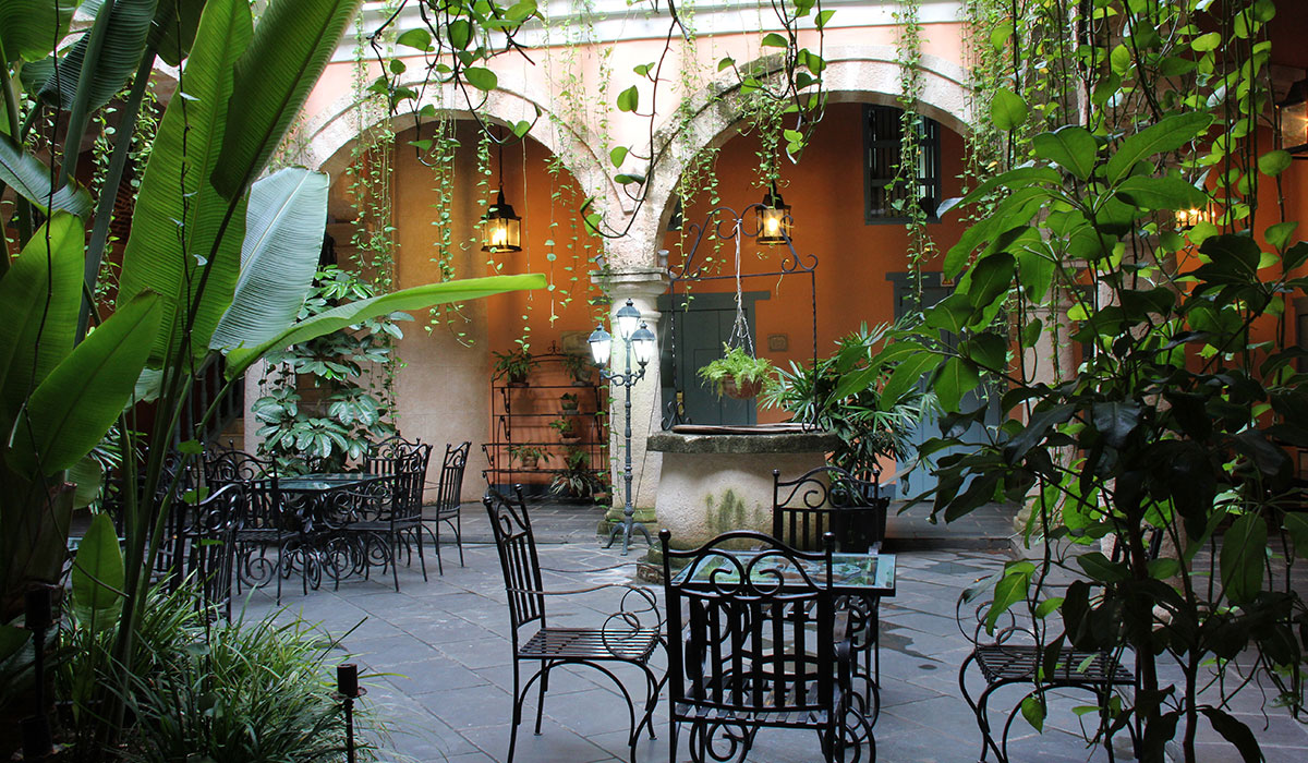 Hotel Marqués de Prado Ameno - Patio interior