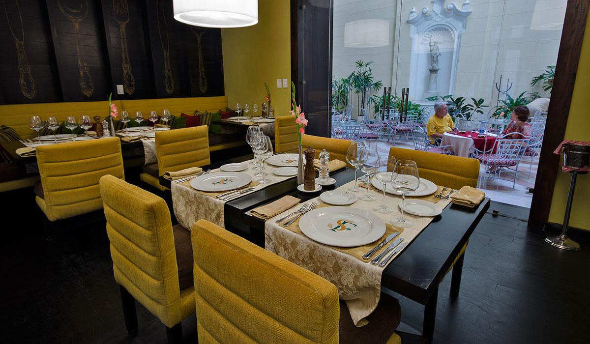 Hotel Palacio del Marqués de San Felipe y Santiago de Bejucal - Restaurante