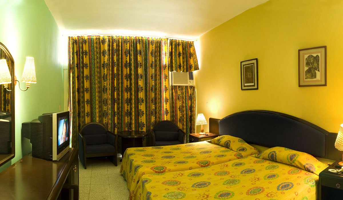 Hotel Club Atlántico - Habitación
