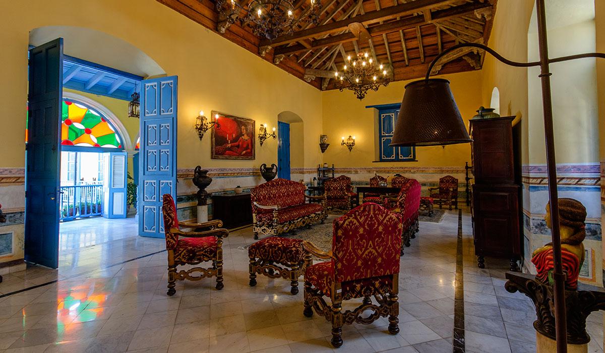 Hotel Beltrán de Santa Cruz - Recepción