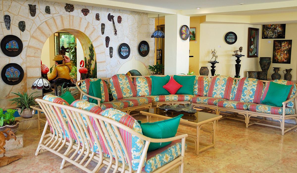 Hotel Chateau Miramar - Recepción