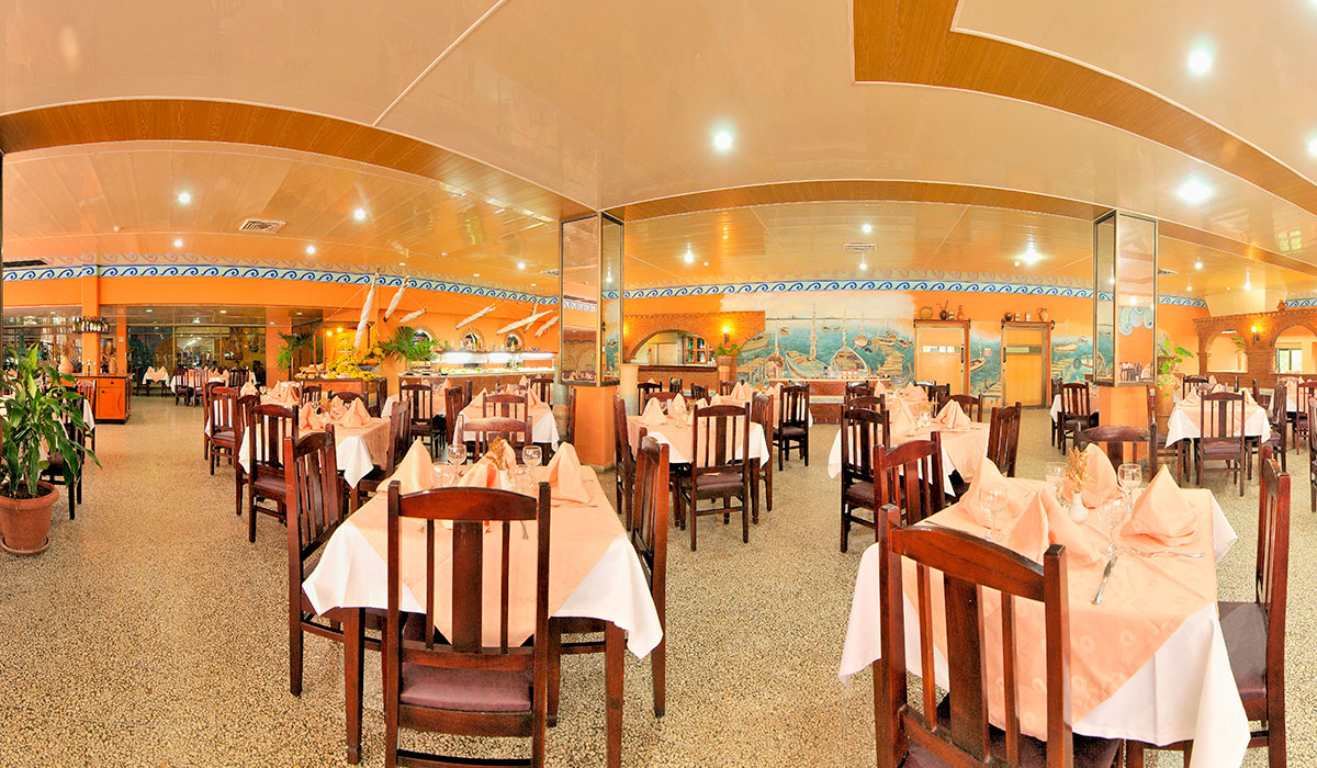 Hotel Club Amigo Ancón - Restaurant