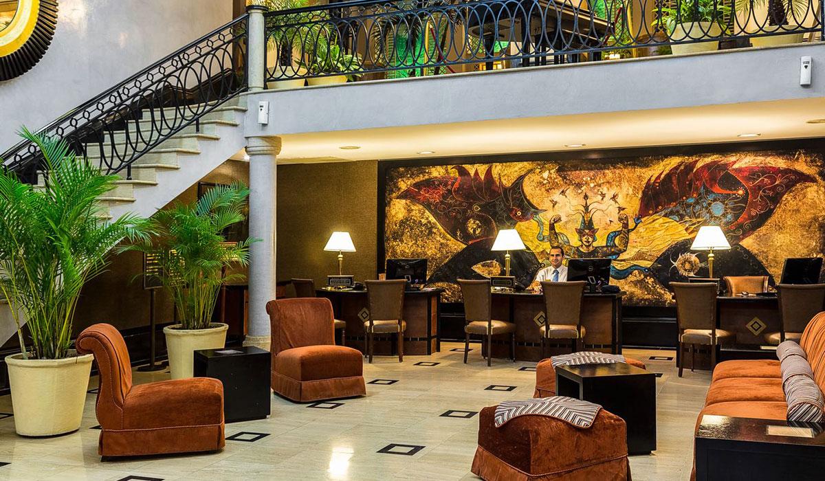 Hotel Saratoga - Lobby
