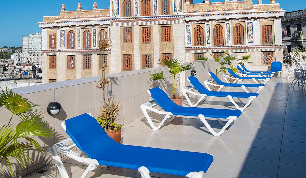 Hotel Plaza - Solarium
