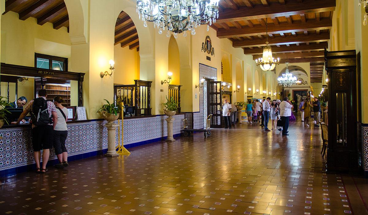Hotel Nacional de Cuba - Lobby