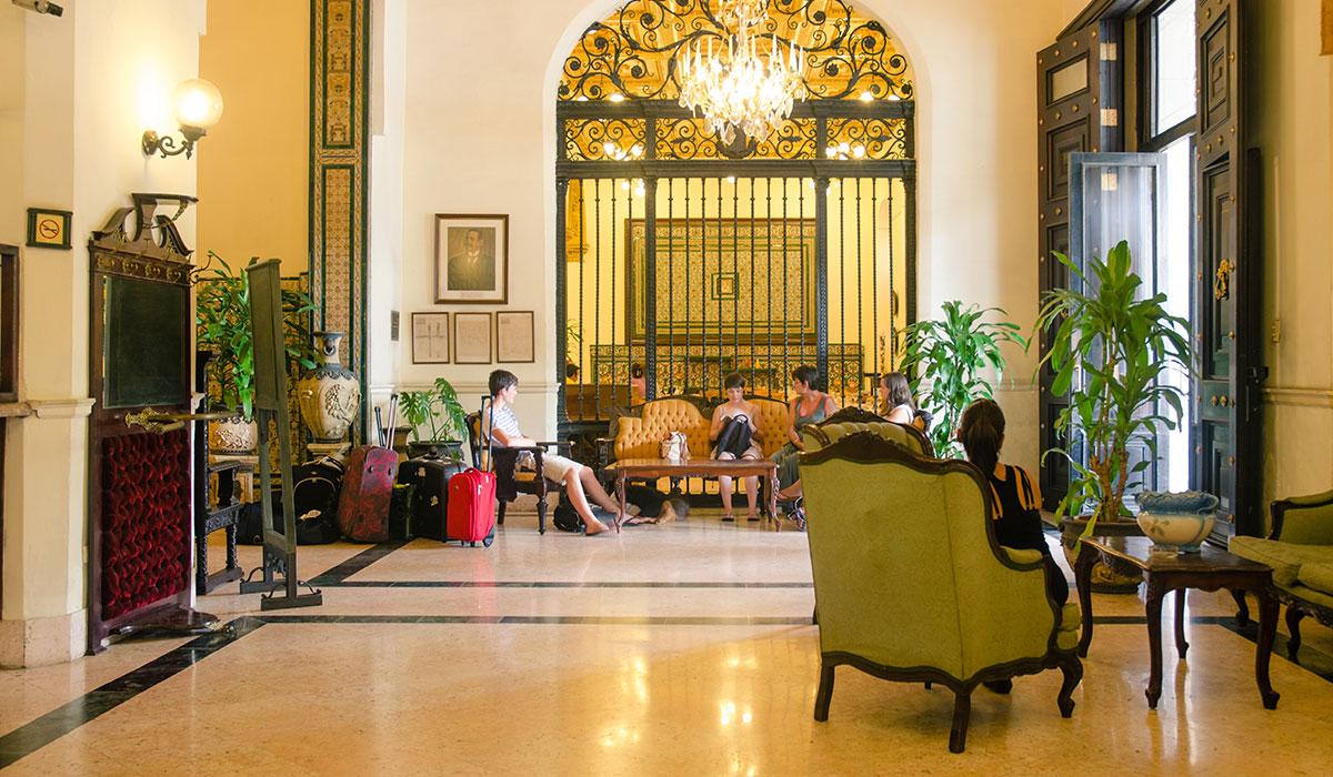 Hotel Inglaterra - Lobby