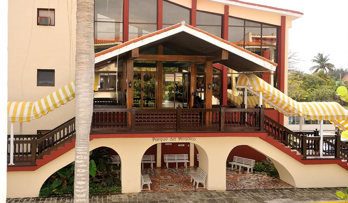 Hotel Club Acuario - entrance