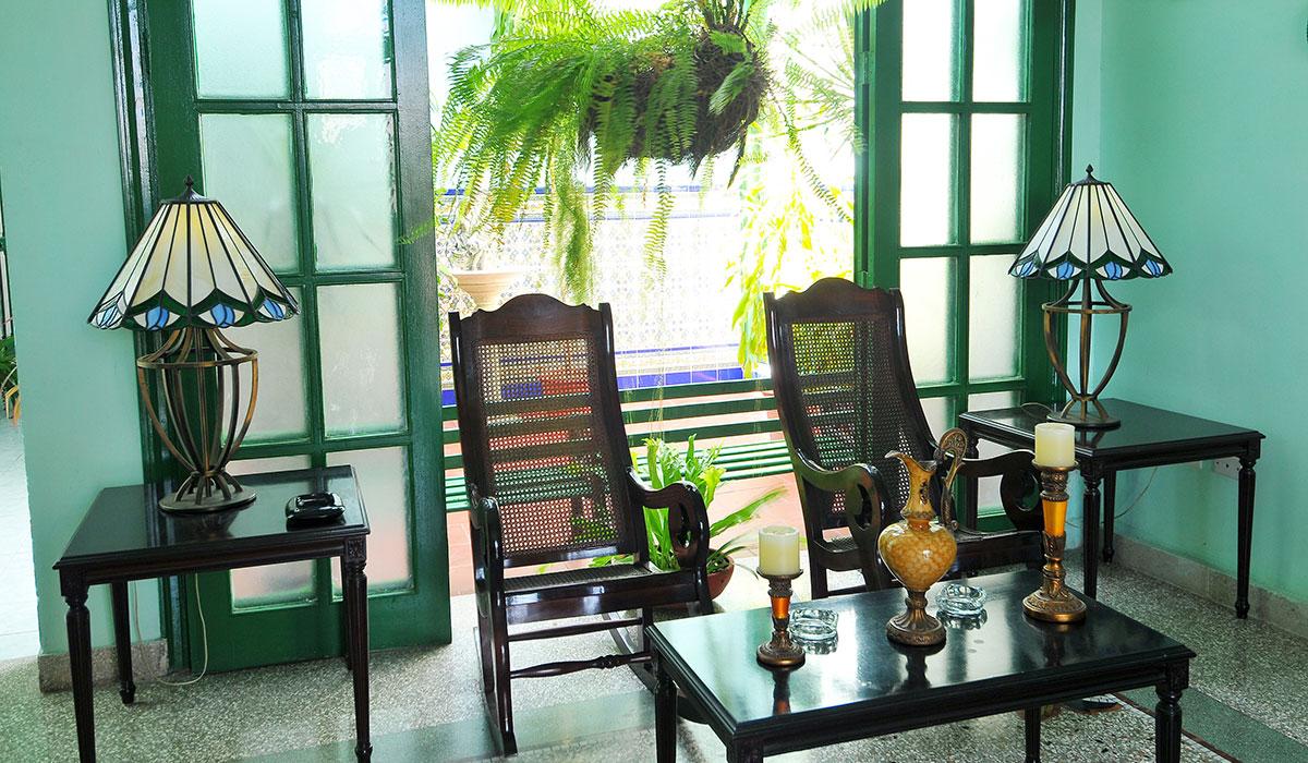 Hotel Encanto San Basilio - Living Room