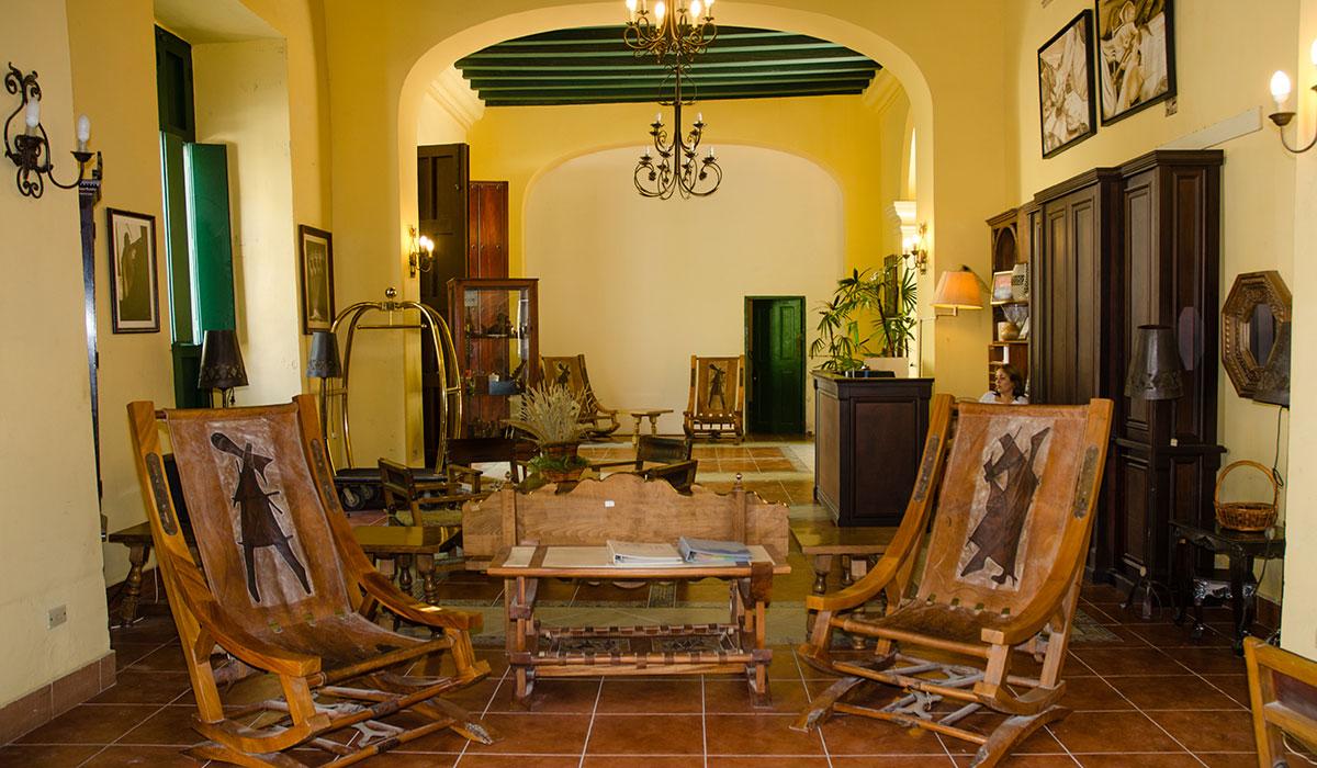 Hotel Conde de Villanueva - Recepción
