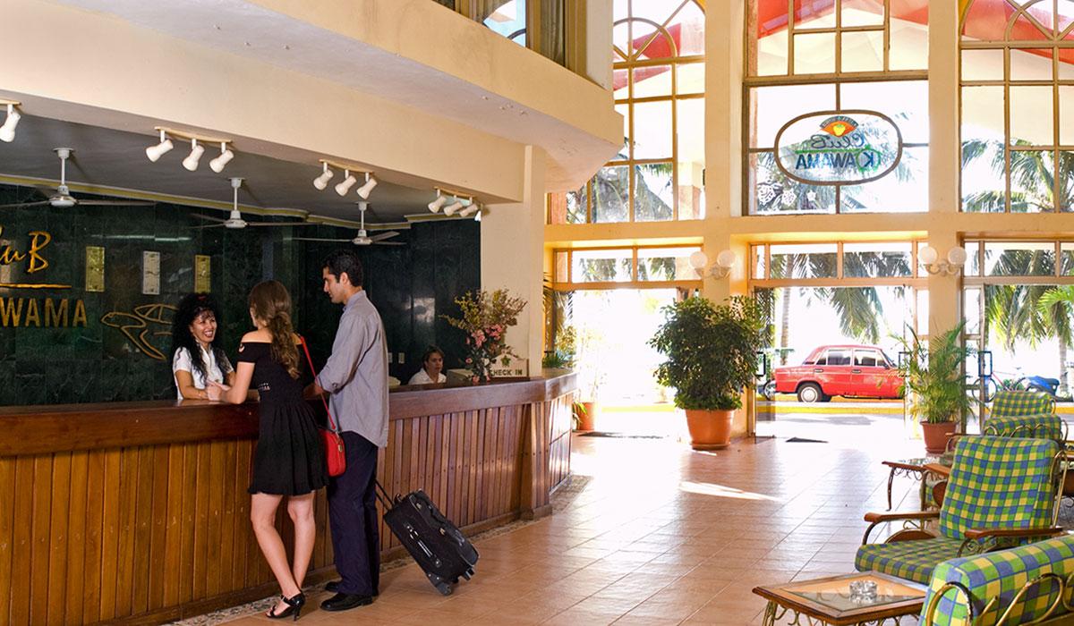 Hotel Club Kawama - Lobby