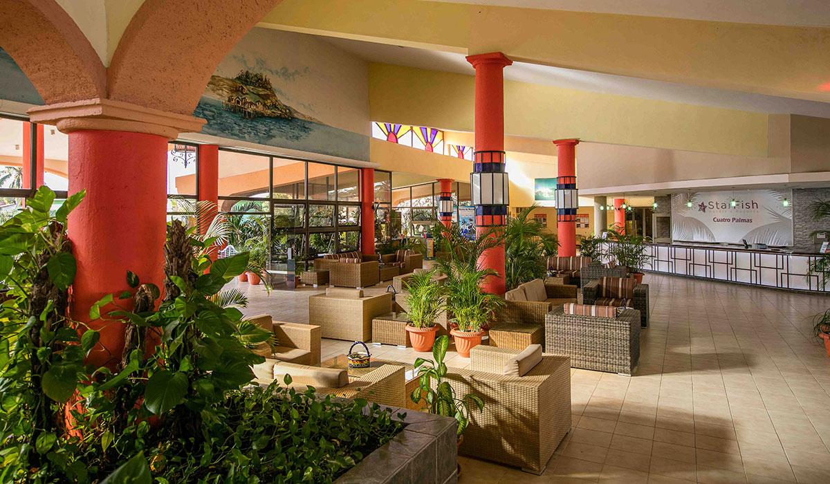 Hotel Starfish Cuatro Palmas - Lobby