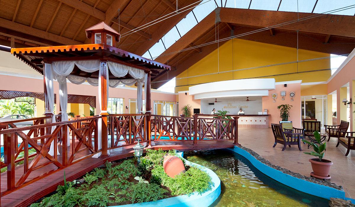 Hotel Memories Caribe - Lobby
