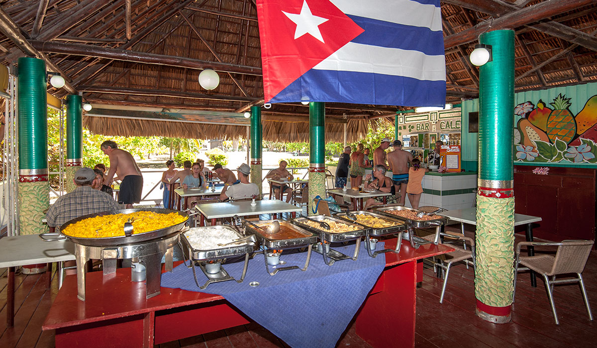 Hotel Brisas del Caribe - Buffet