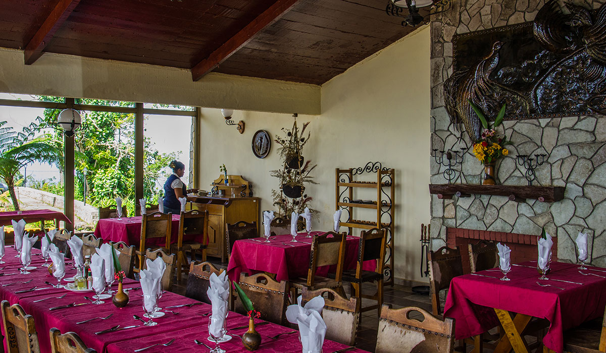 Hotel Gran Piedra - Restaurante