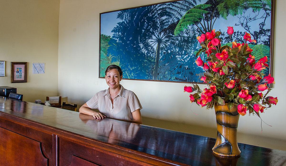 Hotel Gran Piedra - Desk