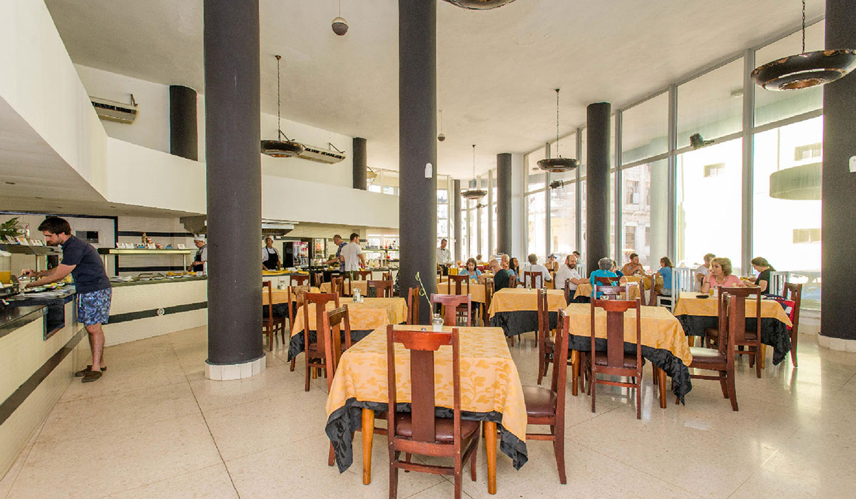 Hotel Deauville - Restaurante