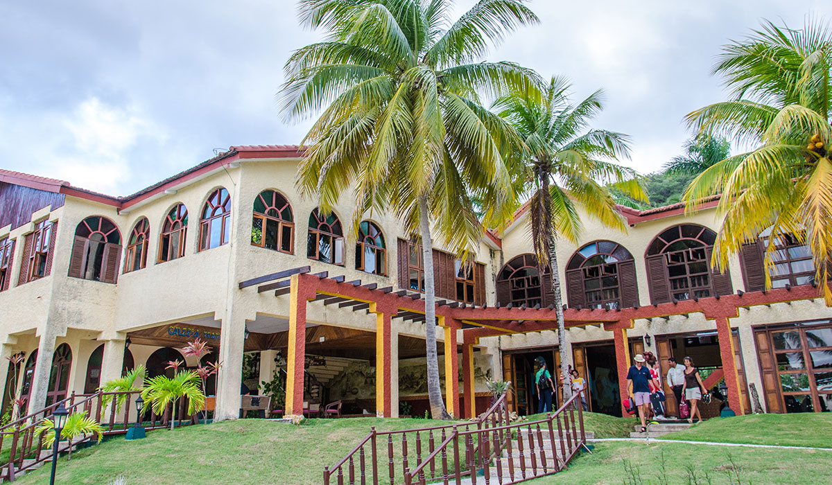 Hotel Porto Santo - Facade