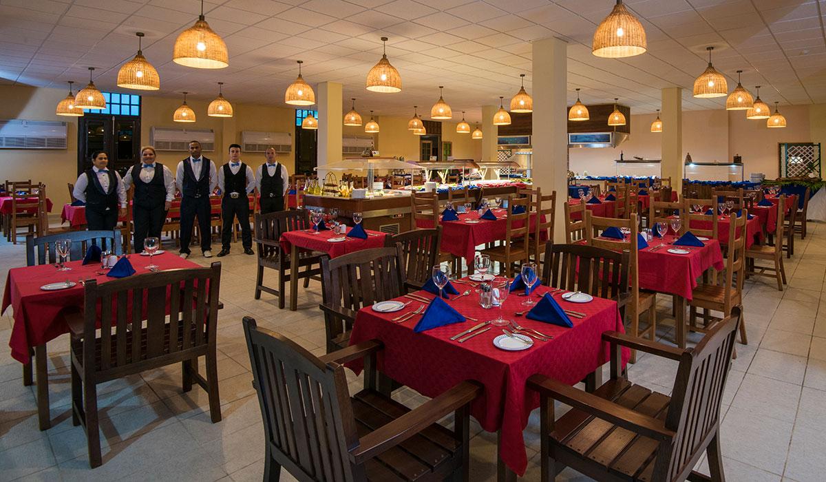 Hotel Maria La Gorda - Restaurante