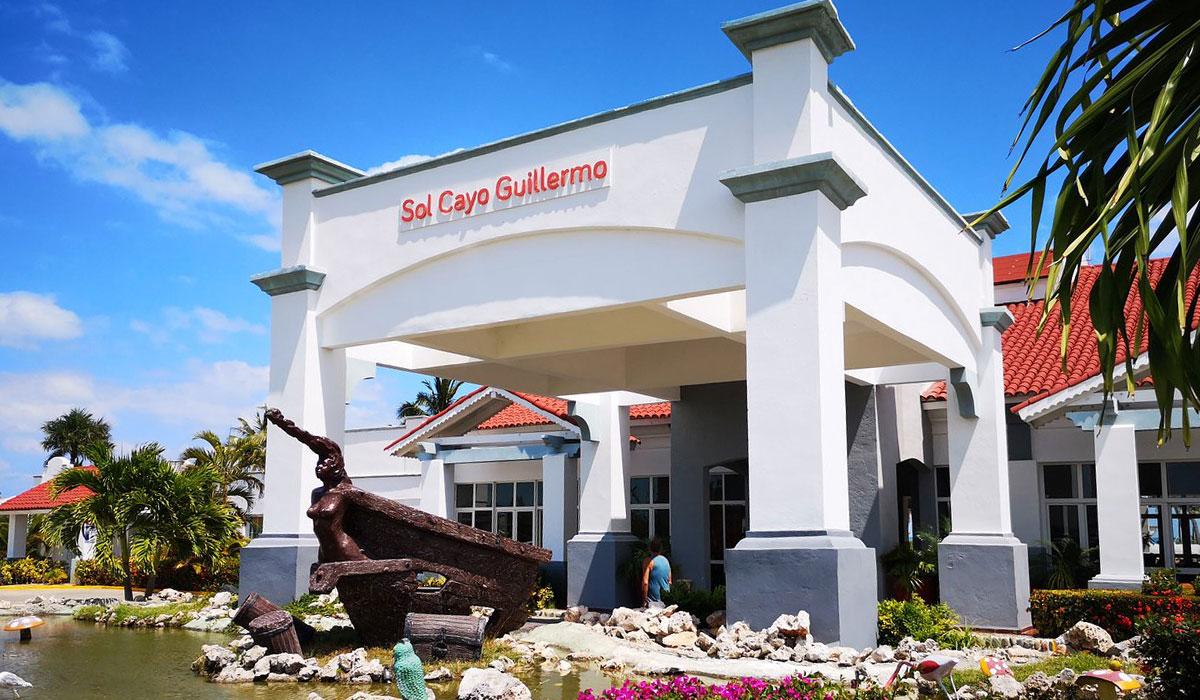 Hotel Sol Cayo Guillermo - Fachada