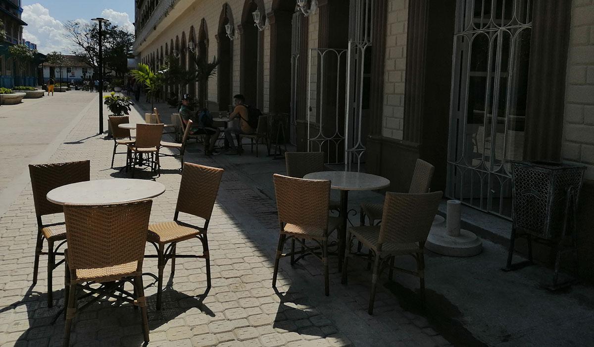 Hotel Plaza Camagüey - terraza