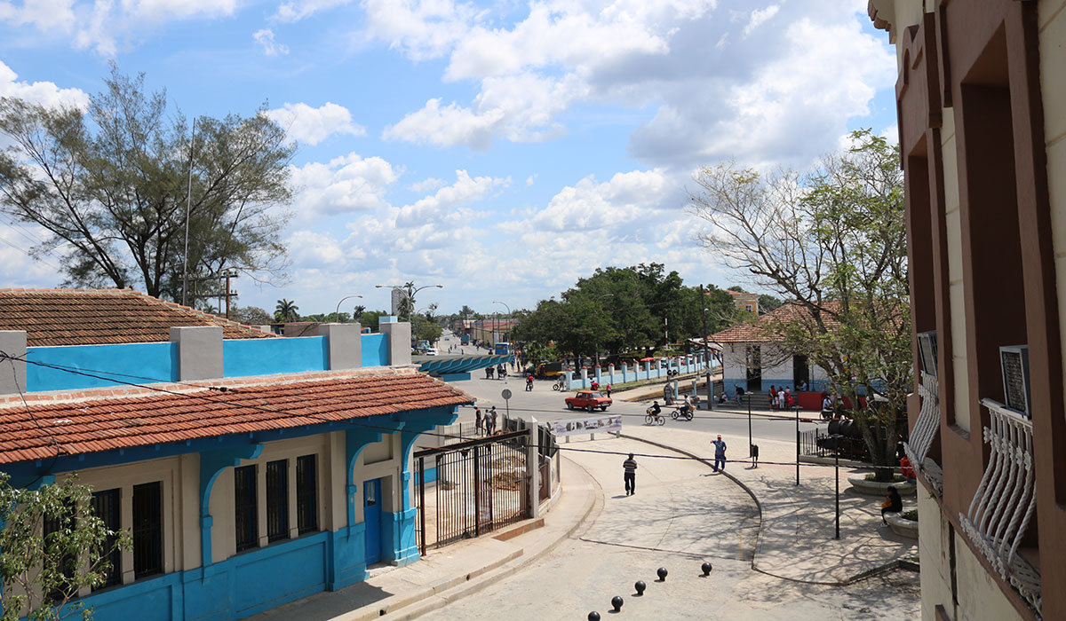 Hotel Plaza Camagüey - view from balcony