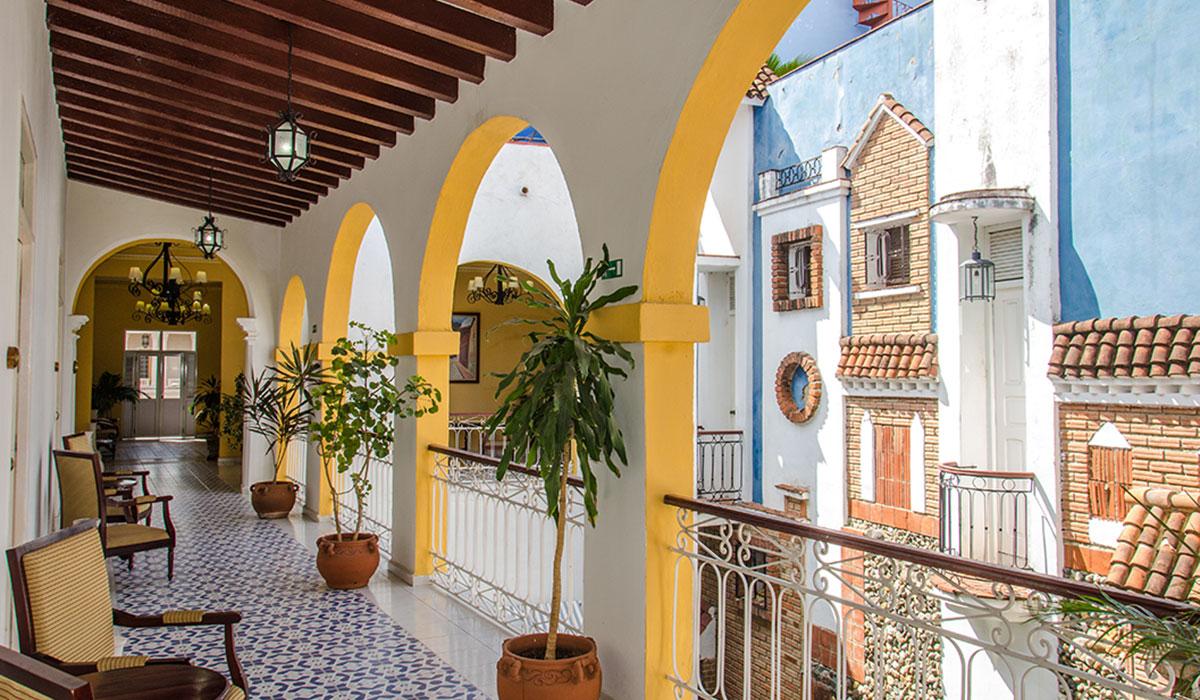 Hotel Encanto Plaza - Vista desde balcón