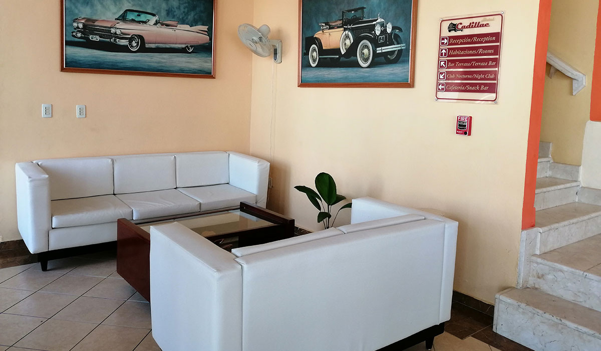 Hotel Islazul Cadillac - Lobby