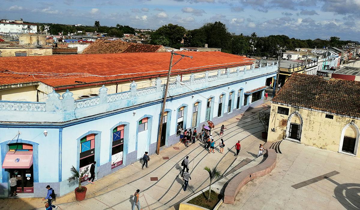 Hotel Islazul Cadillac - Vista desde el balcón