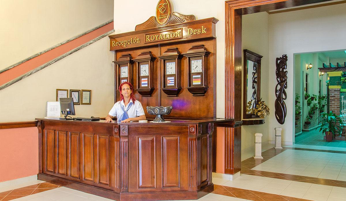 Hotel Encanto Royalton - Recepción