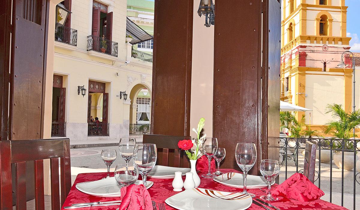 Hotel Encanto Camino de Hierro - Restaurante