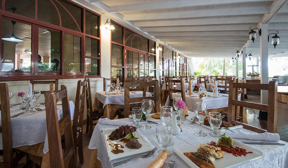 Hotel El Bosque - Restaurante