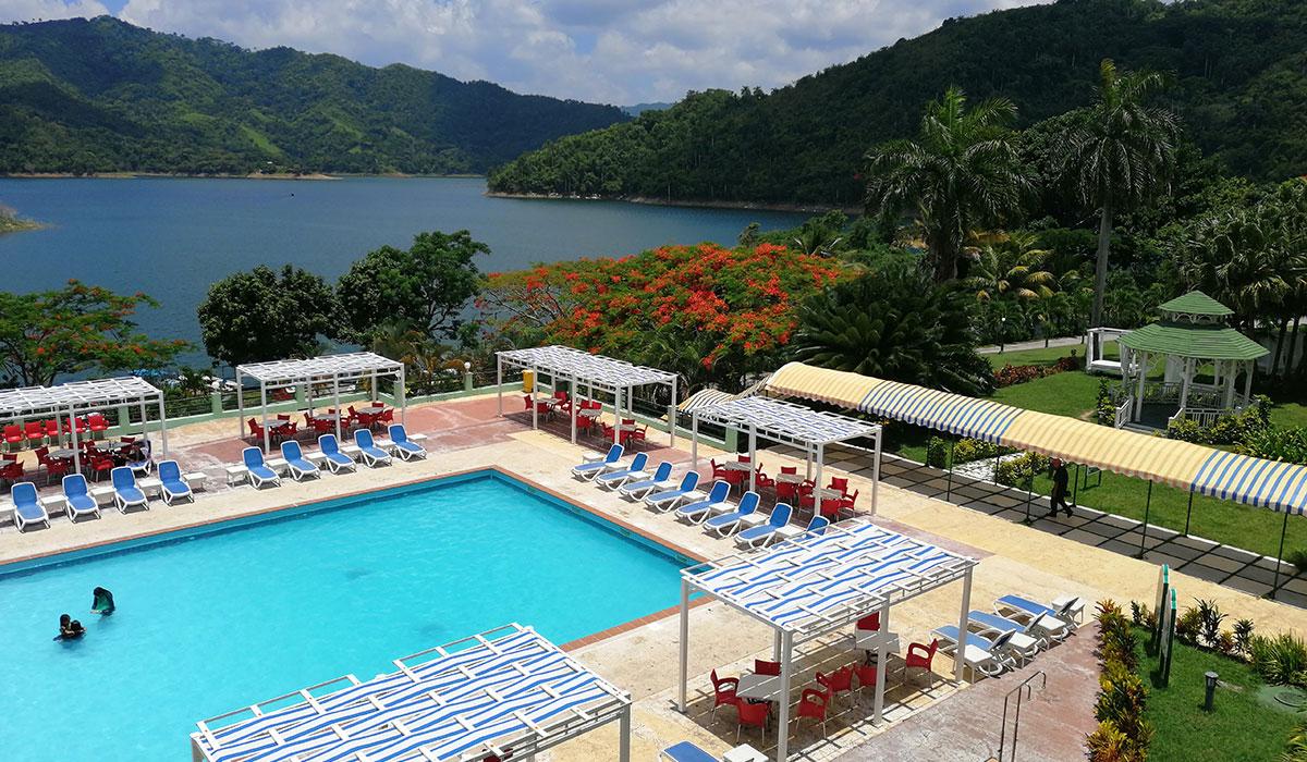 Hotel Hanabanilla - Vista aerea