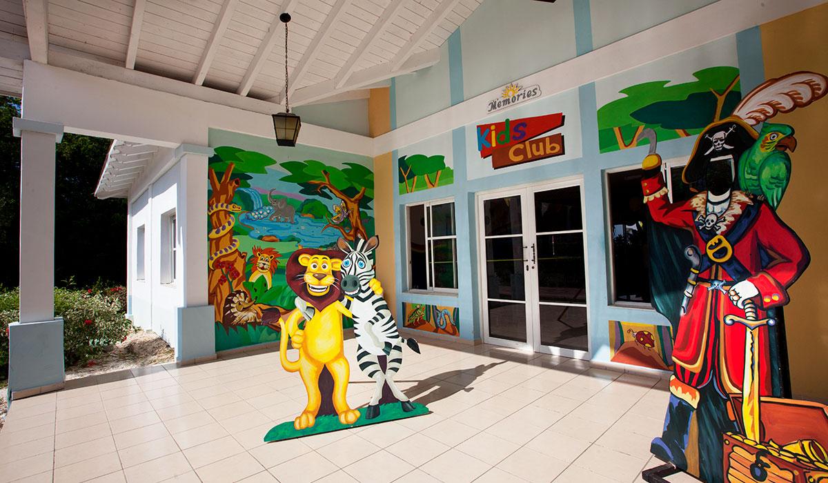 Hotel Memories Paraíso Beach Resort - Babyclub