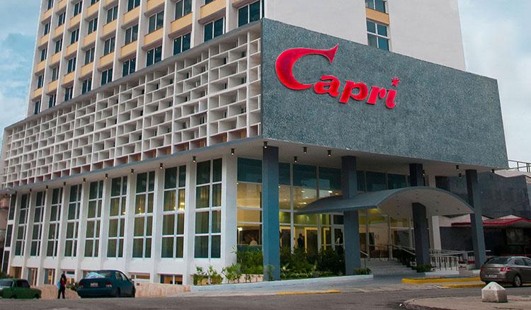 Hotel NH Capri, Vedado, Havana