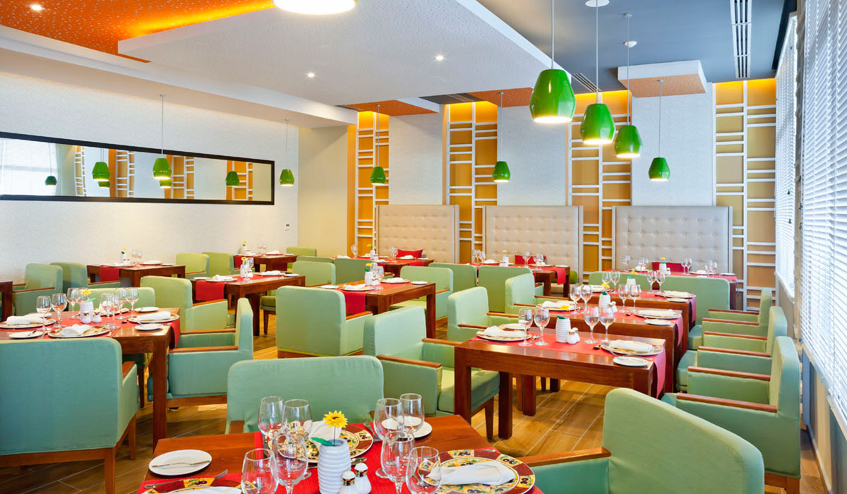 Hotel Ocean Vista Azul - Restaurante