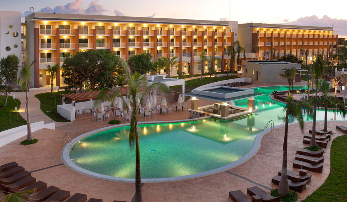 Hotel Ocean Vista Azul - Aerial view