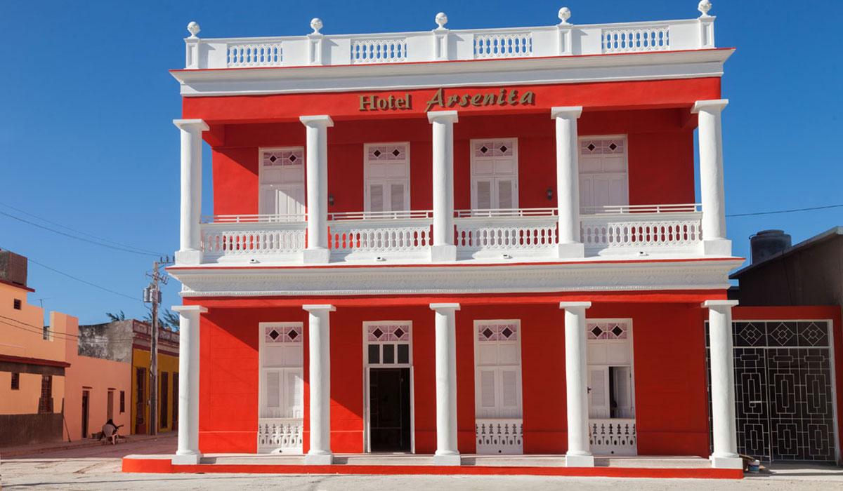 Hotel Arsenita - Facade