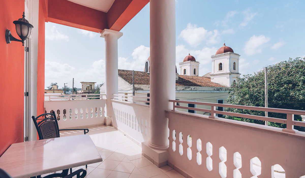 Hotel Arsenita - View from balcony
