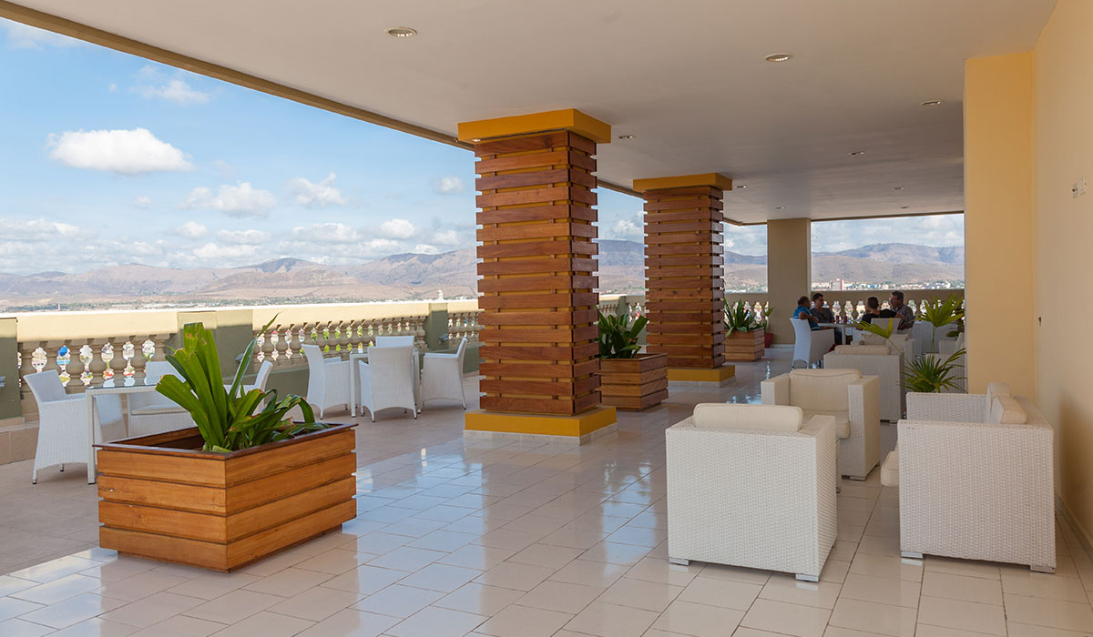 Hotel Iberostar Imperial, Santiago de Cuba - Terraza