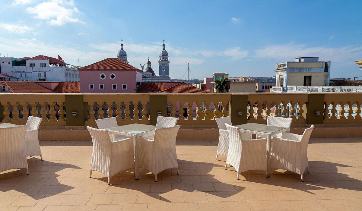 Hotel Iberostar Imperial, Santiago de Cuba - Terrace