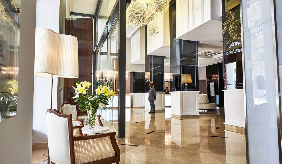 Gran Hotel Manzana Kempinski - Recepción