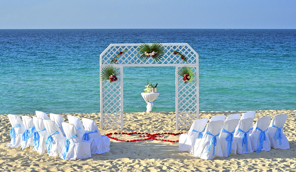 Hotel Paradisus Los Cayos - Wedding in the beach